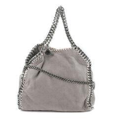 Stella McCartney Falabella Mini 2WAY Chain Shoulder Polyester Gray Ladies Handbag [Used] A Rank