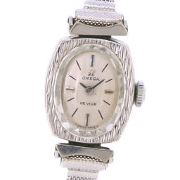 OMEGA Omega Devil Devil Stainless Steel Hand-rolled Ladies Silver Dial Watch [Pre]
