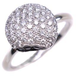 Boucheron Macaron Tantasion Diamond 18k White Gold No. 16 Ladies Ring / Ring [Used] SA Rank