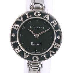 <html>    <body>   BVLGARI ブルガリ Bzero1 ブルガリブルガリ BZ22S ステンレススチール クオーツ レディース 黒文字盤 腕時計【中古】        </body> </html>
