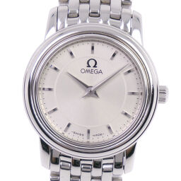 OMEGA Omega Devil / Devil Stainless Steel Quartz Ladies Silver Dial Watch [Used] A Rank