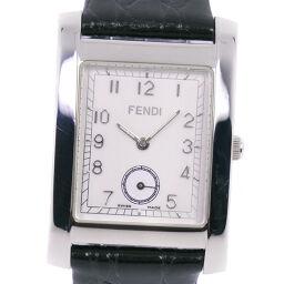<html>    <body>   FENDI フェンディ 016-7000G-602 クオーツ スモールセコンド メンズ 白文字盤 腕時計【中古】        </body> </html>