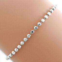 Folli Follie Silver 925 Ladies Bracelet [Used] A rank