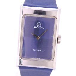 OMEGA Omega Devil / Devil hand-rolled ladies blue dial watch [pre-owned]