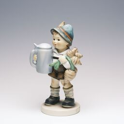 Goebel Frs Vaterle For Father size: H13.5cm / Figurine Ceramic object [Used] A + rank