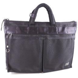 PORTER Porter Business Bag Black Men's Briefcase [Pre] A rank