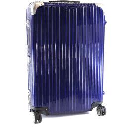 RIMOWA リモワ LIMBO/リンボ 82L Multiwheel スーツケース×ポリカーボネート ブルー ユニセックス キャリーバッグ【中古】