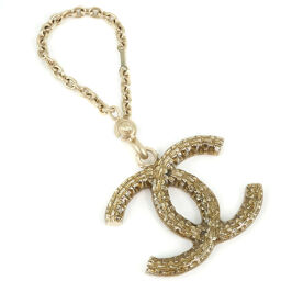 CHANEL Chanel Coco Mark Gold Plated Gold 09C Engraved Ladies Charm [Used]