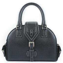 LOEWE Loewe Calf Black Ladies Handbag [Used] A rank