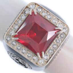 GUCCI Gucci Akaishi Silver 925 No. 10 Black Ladies Ring / Ring [Used] A rank