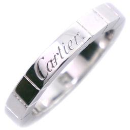 CARTIER カルティエ ラニエール 1PD K18ホワイトゴールド×ダイヤモンド 7号 レディース リング・指輪【中古】SAランク