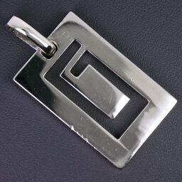 GUCCI Gucci G logo silver 925 unisex pendant top [used]