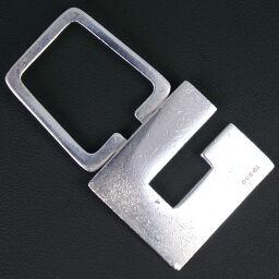 GUCCI Gucci G logo silver 925 unisex key chain [used]