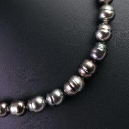 "<html lang=""ja"">    <body>   バロック 黒真珠 8-12mm8-12mm シルバー×パール レディース ネックレス【中古】A-ランク        </body> </html>"