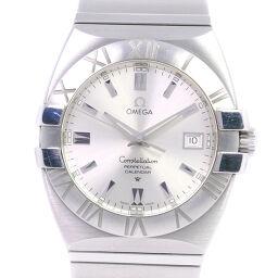 OMEGA オメガ コンステレーション ダブルイーグル 1513.30 ステンレススチール クオーツ メンズ シルバー文字盤 腕時計【中古】