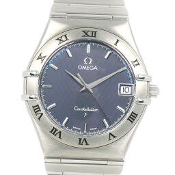 OMEGA Omega Constellation 1512.40 Stainless Steel Quartz Men's Navy Dial Watch [Used] A-Rank