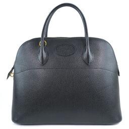HERMES Hermes Bored 35 Ardennes Black 〇 Y engraved ladies handbag [used]