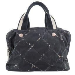 CHANEL Travel Line Nylon Women's Handbag [Used]