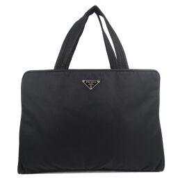 PRADA Prada B8496 Nylon NERO Black Unisex Handbag [Used]