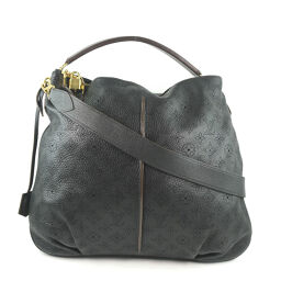 LOUIS VUITTON Louis Vuitton Selene PM M94314 Monogram Mahina AR2182 engraved ladies shoulder bag [used] A rank