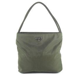 PRADA Prada Nylon Khaki Women's Tote Bag [Used]