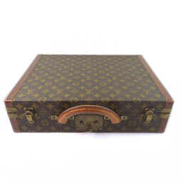 LOUIS VUITTON ルイ・ヴィトン プレジデント M53012 モノグラムキャンバス 茶 メンズ ブリーフケース      【中古】   </splt>        </body> </html>