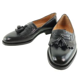 BALLY Bally Leather Black Men's Loafers [Used] A-Rank