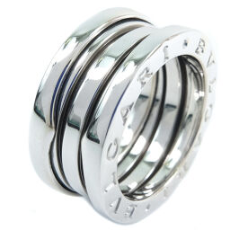 BVLGARI Bzero1 Bzero1 K18 White Gold No. 9.5 Ladies Ring / Ring [Used] A rank