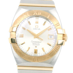 OMEGA Omega Constellation Double Eagle 1213.30 Stainless Steel x YG Gold Quartz Men's Silver Dial Watch [Used]