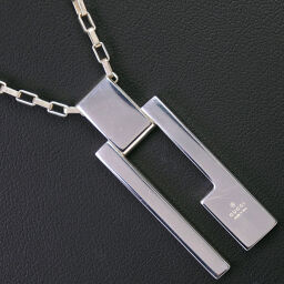 GUCCI Gucci Silver 925 Unisex Necklace [Used] A-Rank