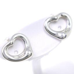 TIFFANY & Co. Tiffany Open Heart Paloma Picasso Silver 925 Ladies Earrings [Used] SA Rank