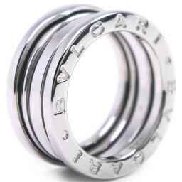 BVLGARI Bzero1 Bzero1 K18 White Gold No. 8.5 Ladies Ring / Ring [Used] A-Rank