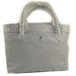 ADMJ Accessois ADMJ Bag Leather White Ladies Handbag [Used]