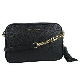 Michael Kors Michael Kors Calf Black Ladies Shoulder Bag [Used] A + Rank