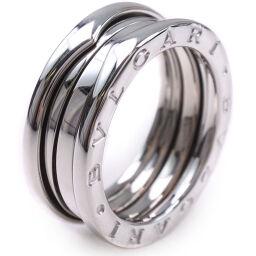 BVLGARI ブルガリ Bzero1 ビーゼロワン K18ホワイトゴールド 14.5号 ユニセックス リング・指輪  【中古】SAランク