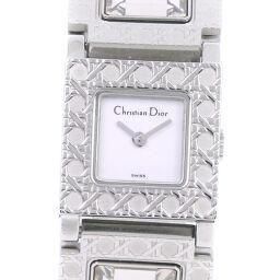 <html>    <body>   Dior クリスチャンディオール ラ・パリジェンヌ D60-109 ステンレススチール クオーツ レディース 白文字盤 腕時計【中古】        </body> </html>