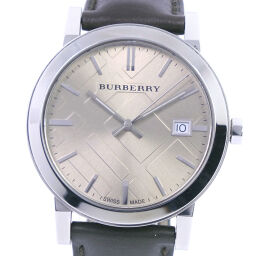 <html>    <body>   BURBERRY バーバリー BU9011 ステンレススチール×レザー クオーツ メンズ シャンパンゴールド文字盤 腕時計【中古】A-ランク        </body> </html>