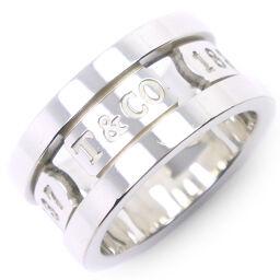 TIFFANY & Co. Tiffany 1837 Silver 925 9.5 Ladies Ring / Ring [Used] A rank
