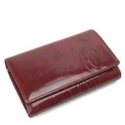 カルティエ CARTIER 二つ折り財布 l\L3000347  レザー レディース 079429-12L
