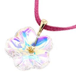 Baccarat Baccarat Necklace K18 Yellow Gold YG750 / Crystal Gold Ladies K00113698