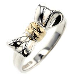 ティファニー TIFFANY&Co. リボン リング・指輪  シルバー925/K18イエローゴールド 13号 シルバー レディース K00113745