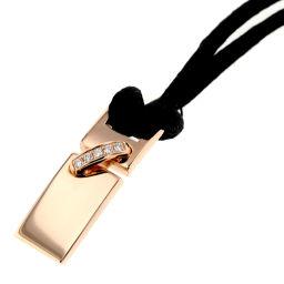 Chaumet Chaumet Lian Necklace K18 Pink Gold / Diamond Diamond Gold Ladies K00114904