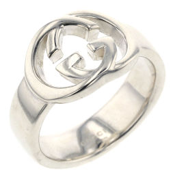 Gucci GUCCI Interlocking Ring Silver 925 No. 11 Silver Ladies K00114938