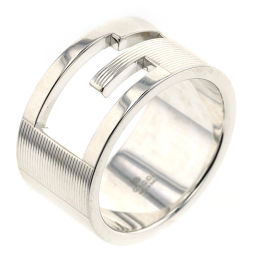 Gucci GUCCI branded G wide about 12 mm width ring / ring silver 925 21 silver men K00114939