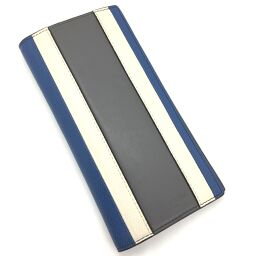 マイケルコース Michael Kors 札入れ 長財布 #36H7LWRE6T 492  レザー ブルー メンズ K00115708