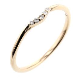Agat agete 0.03ct Ring / Ring K10 Yellow Gold / Diamond Diamond 0.03ct No. 11 Gold Ladies K00128000