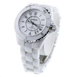 シャネル CHANEL J12 38mm 自動巻き 腕時計 H0970  ホワイトセラミック/ステンレススチール ホワイト レディース K00201111