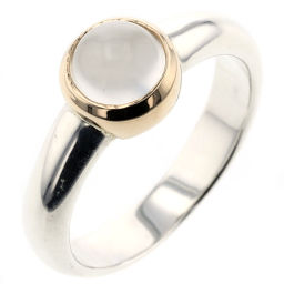 Star jewelery STAR JEWELRY Moonstone combination ring / ring K14 yellow gold / silver 925 No. 11 silver ladies K00204106