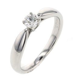 ティファニー TIFFANY&Co. ハーモニー 0.20ct F VVS1 3EX NONE リング・指輪  プラチナPT950/ダイヤモンド ダイヤモンド0.20ct 6号 シルバー レディース K00313517