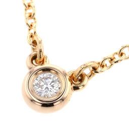 ティファニー TIFFANY&Co. バイザヤード 1P 約0.05ct ネックレス  K18ピンクゴールド/ダイヤモンド ダイヤモンド ゴールド レディース K00313529